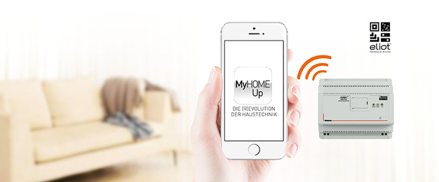 MyHOME / MyHOME_Up bei Eltec Brückl GmbH in Lauter-Bernsbach
